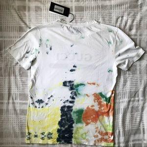 4c2e132c Gucci Shirts   Nwt White Tiedye Logo Tshirt Size M   Poshmark